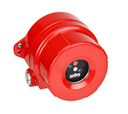 red flame detector